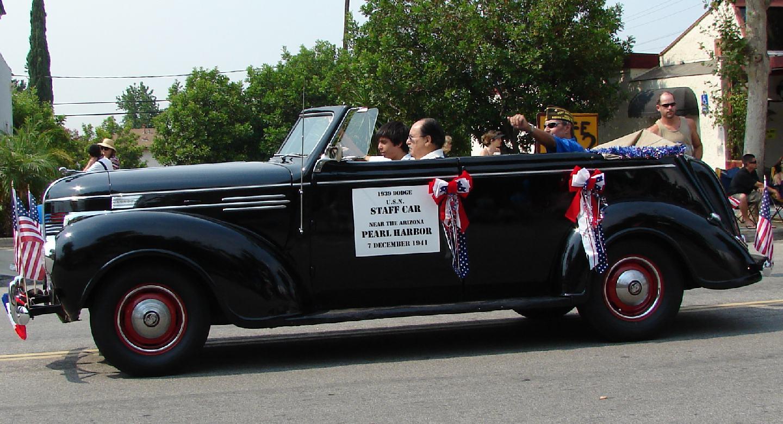 "1939 Dodge ""Pearl Harbor Staff"