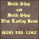 Bottle Shop and Bottle Shop Wine Tasting Room