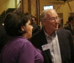 Teresa Chaure and Stan Hutchison of the Sierra Madre Historical Preservation Society