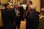 Glenn talks with JPL colleagues