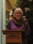 Amy Putnam addresses the audience