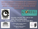 Ed Clare, Corfu to Host February Joint Chamber Mixer