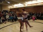 former U.S. Sumo champion Troy Collins and 5-time U.S. Sumo champion Dan Kalbfleisch