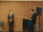 Mayor Mosca and Consul General of Japan  Junichi Ihara