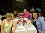 The folks from Linden Optometry always make a spectacle of themselves...Here are just a few of many on hand