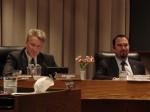 Mayor Buchanan and Mayor Pro Tem Moran