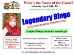 Legendary Bingo Fundraiser for SMRFA This Saturday