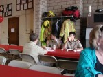 Traditionally, the Boy Scouts do overnight security at the Art Fair and then have breakfast at the fire station