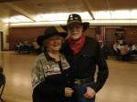 Kiwanian Judy Webb-Martin and Benn Martin