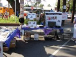 Sierra Madre Historical Preservation Society table