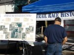 Trail Race History booth