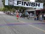 Morgan Putnam, Pasadena, CA - 9th place, 1:16:04