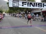Gary Hefner, Long Beach, CA - 11th place, 1:16:30