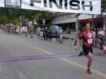 Jack Ramirez, Pasadena, CA - 16th place, 1:18:45