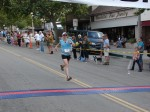 5-time Woman's Champ Sharon Pevsner, Sierra Madre, CA - 2nd place women's, 17th place overall, 1:19:15