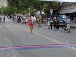 Not sure, might be Yonathan Schwarzkopf, Pasadena, CA - 18th place, 1:19:42