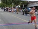 Not sure, might be Yonathan Schwarzkopf, Pasadena, CA - 18th place, 1:19:42