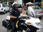 Hey, shouldn't that kid be wearing a helmet?