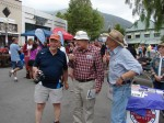 Three men with lots of history - Dr. Bill White, John Robinson, Stan Hutchison