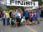 Mt. Wilson Trail Race Committee, action shot