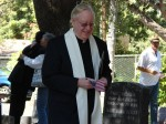 Father Pat Brennan of Mater Dolorosa gave the invocation