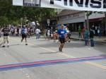 Bib 240 - Scott Strebe, Sierra Madre, CA - 1:56:19, second runner unknown