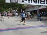 Front runner unknown, Bib 296 - Tobi Nishikawa, Arcadia, CA - 1:56:16