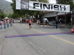 Bib 167 - Shannon Milazzo, Monrovia, CA - 2:04:19; Bib 312 - Jay Gladinus, Long Beach, CA - 2:04:25