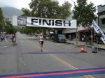 Race stats show bib 52 as 61-year old Scott Cline, but this is obviously not him.  Possibly Sujey Iribe, of Pasadena, CA, 2:30:58?