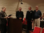 City Council Recognizes Retiring Firefighters