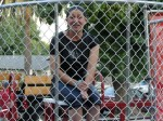 Nikki Stevens, bartender at the Buccaneer, also took a turn in the dunk tank