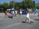 50th Anniversary of Peace Corps Entry in Parade