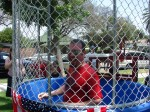 Then Mayor Pro Tem Josh Moran, post dunk in 2011, News Net file photo