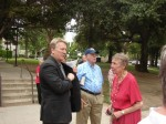 Mayor Buchanan and Senior Community Commissioners Bill Nelson and Ann Luke