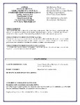 City Council Agenda for Tuesday, August 9, 2011