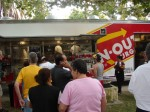 The In-n-Out truck was quite popular