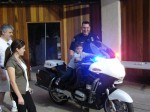 """Youngster gets to """"ride"""" SMPD motorcycle"""