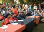 Judges from the Kiwanis Club