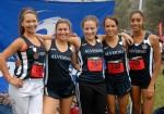 Rachel Achterman, Adrianna Martinez, Ashley Haylett, Eryn Blakely, and Katherine Haysbert - photo by Lara Larramendi
