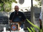 Jim Moran of the Veterans' Wall Committee