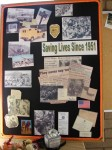 Photos from the past were on display