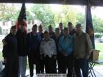 "Sierra Madre veterans (L-R) Ken Anhalt, Gordon Caldwell, Ted Evans, Duncan MacGillivray, ""Pops"", Dave Loera, Bud Switzer, Steve Paszek, Art Contreras, unknown, Don Reed at 2011 Veterans'  Day ceremony"