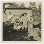 Citrus washing apparatus at the Pegler Ranch, circa 1900. Photo courtesy of Sierra Madre Historical Preservation Society