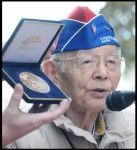 Sierra Madre Resident Receives Congressional Gold Medal