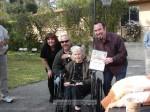 Granddaughter Karen Baker joins David, Josh and Lucille