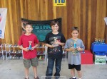 Top finishers in Webelos