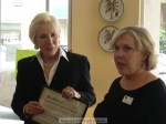 Mayor Pro Tem Nancy Walsh was also there presenting a certificate from the City