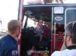 Baby's first fire truck!