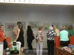 An artist reception was held May 11th