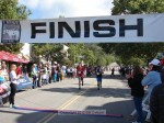 Bib 249 Paul Hagen, Sierra Madre, 1:29:08; Bib 301 Steven B: Lee, Long Beach, 1:28:59